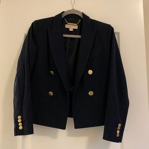 Michael Kors Navy Blazer with gold Buttons